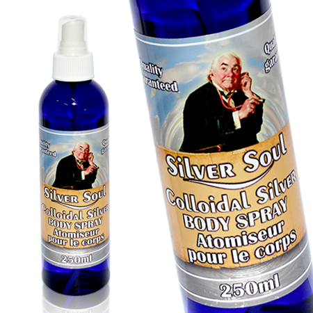 Clear 60 Silver Soul Body Spray