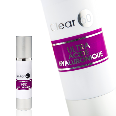 Clear 60 Acide Hyaluronique – natural wrinkle cream